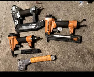 Nail guns nailer nailgun for Sale in Glendale, CA