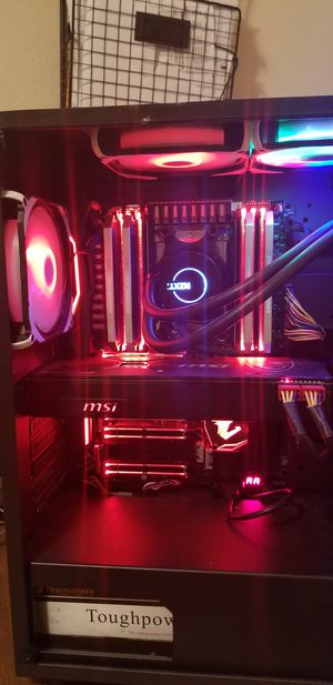Custom gaming pc for Sale in Apple Valley, CA