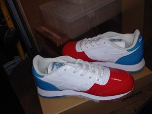 Reebok Leather Dessert Pack Primal Red/White-Teal for Sale in Independence, MO
