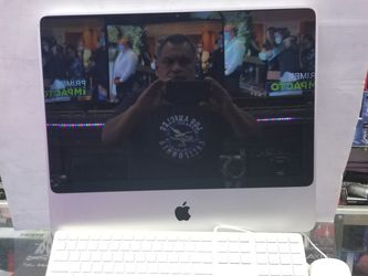 """20"""" IMAC ALL IN 1 DESKTOP COMPUTER. 2009 MODEL. KEYBOARD AND MOUSE INCLUDED. 90 Days WARRANTY for Sale in Los Angeles,  CA"""