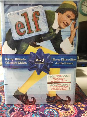 Blue Ray Elf movie in collectible tin for Sale in Katy, TX