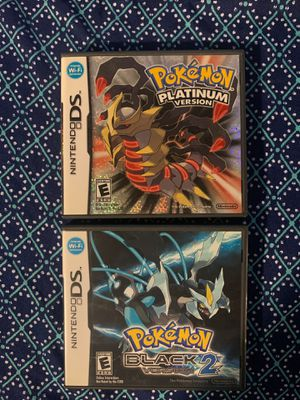 Pokemon Platinum DS/Pokemon Black2 DS for Sale in Whittier, CA