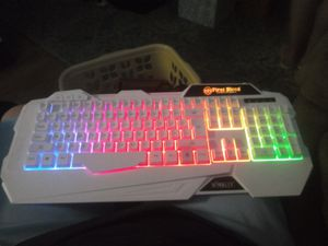 Hiraliy gaming keyboard for Sale in Columbia, MO