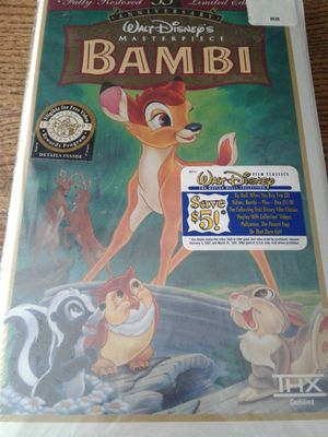 VHS Bambi for Sale in Hightstown, NJ