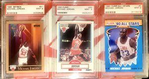 Michael Jordan PSA 9 (4 cards total) for Sale in Fresno, CA