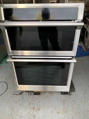New samsung oven microwave combo for Sale in Manalapan Township, NJ