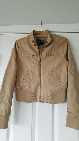Leather Women's jacket size S for Sale in Snohomish, WA