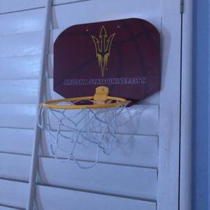 ASU Mini Basketball Hoop for Sale in Glendale, AZ