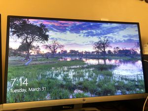 Hp 27 inches monitor for Sale in Queens, NY