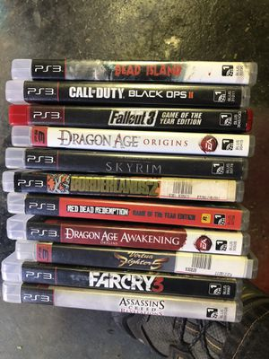 11 ps3 games for Sale in Independence, KS
