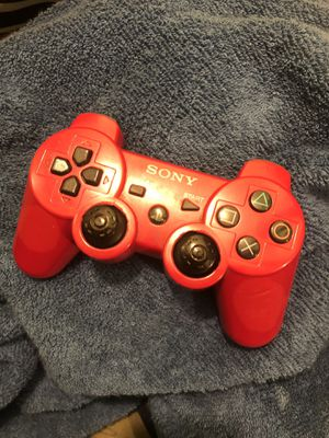 PlayStation Red Controller for Sale in Los Angeles, CA