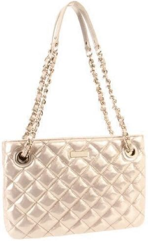 Kate Spade Gold Quilted Leather Handbag for Sale in Phoenix, AZ