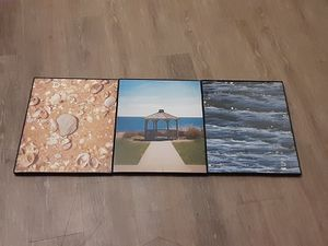 3 Piece Framed Art Photos for Sale in Stone Mountain, GA