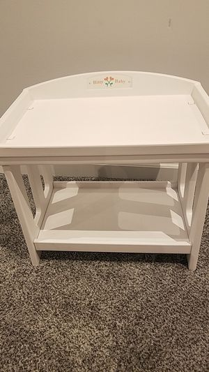Bitty baby american girl retired changing table for Sale in Ellicott City, MD