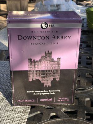 Downton Abbey Season (DVD) 1-3 and 1 Hour documentary ( PBS ) for Sale in Santa Susana, CA