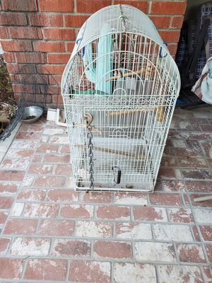 Big bird cage with stand for Sale in Yucaipa, CA