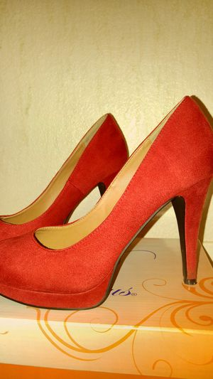 Like New Red Heels Size 7 for Sale in Montclair, CA