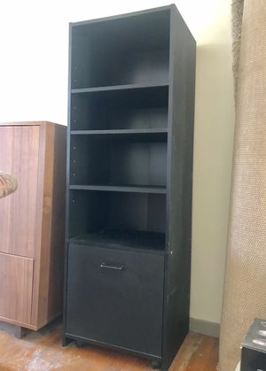 Home office shelves with slide-out file cabinet for Sale in New York, NY