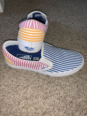 Van stripped slip on shoes for Sale in Aurora, IL