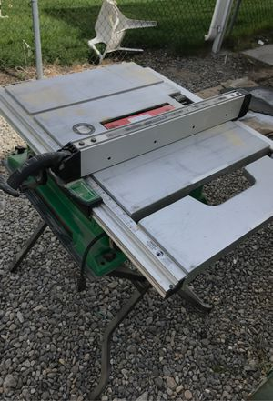 Hitachi table saw for Sale in West Valley City, UT