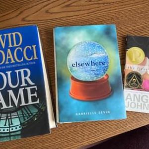 Set Of 3 Hardback Gently Used Books, Great Authors And Titles , Porch Pickup Mt Laurel for Sale in Mount Laurel Township, NJ