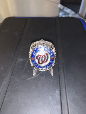 Washington Nationals 2019 World Series Ring for Sale in Alexandria, VA