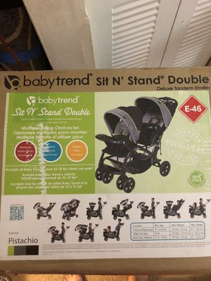 Sir and stand double stroller for Sale in Tampa, FL