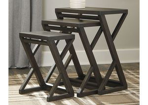 NEW, Cairnburg Brown Accent Table Set (Set of 3), SKU# A4000183 for Sale in Westminster, CA