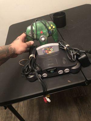 Nintendo 64 with super Mario 64 for Sale in Ellenwood, GA