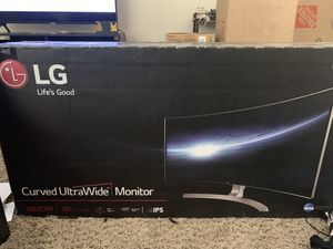 Curved Ultrawide PC Monitor for Sale in Millcreek, UT