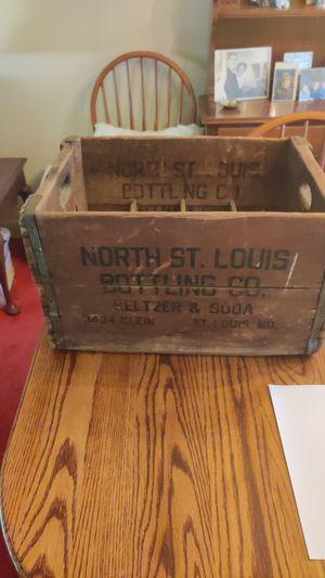 Old North St.Louis Bottling Co Crate - Dated 1938 - $30.00 for Sale in St. Louis, MO
