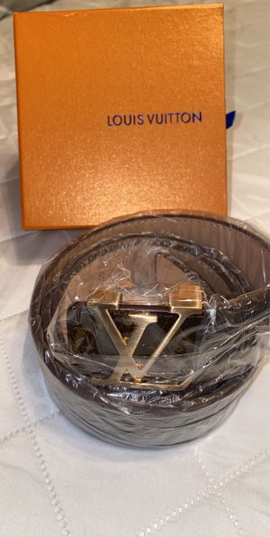 Brown Louis Vuitton Belt for Sale in Humble, TX