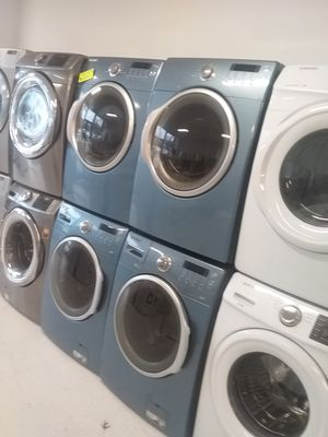 Samsung washer and dryer 650 set used good condition 90days warranty 🔥🔥 for Sale in Mount Rainier, MD