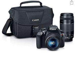 Canon T6 Rebel DSLR Camera Bundle Kit for Sale in Lake Grove, NY