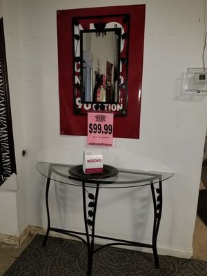 Console table & mirror for Sale in Philadelphia, PA