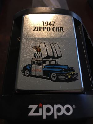 New ZIPPO 1947 CAR LIGHTER WITH FLINTS ! for Sale in Wilmington, MA