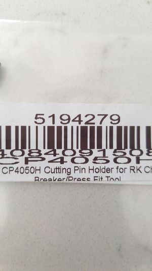 RK Motorcycle chain Tool part CP4050H for Sale in Albertville, MN