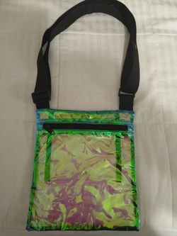 Iridescent See Thru Messenger Bag Purse for Sale in Austin,  TX
