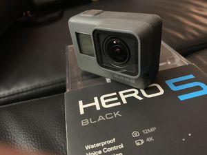GoPro Hero 5 Black for Sale in Silver Spring, MD
