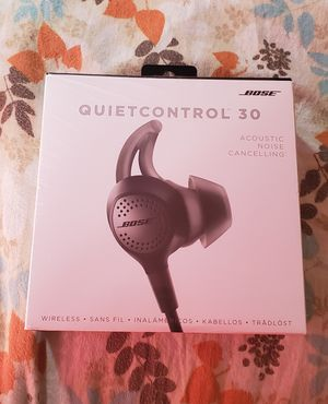 Bose Quiet Control 30 for Sale in Fremont, CA