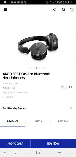 Akg wireless headphones for Sale in Nicholasville, KY