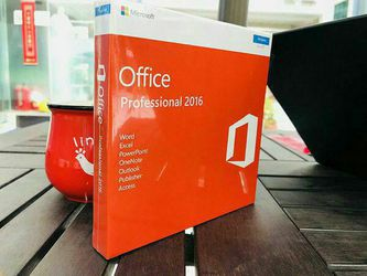 Microsoft Office 2016 Mac and Windows for Sale in Aventura,  FL