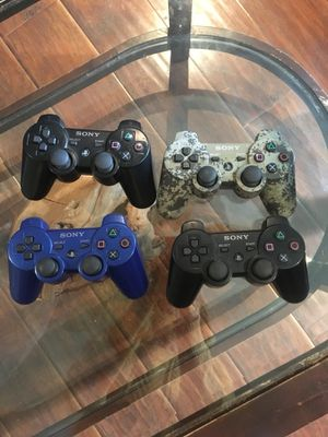 Play station 3 controllers for Sale in Irwindale, CA