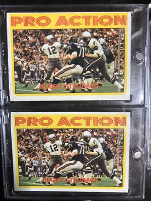 2 1972 Staubach cards for Sale in Federal Way, WA