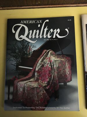 (8) American Quilter Magazined for Sale in Los Angeles, CA