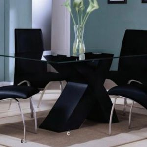 Black Modern Dining Set for Sale in Miami, FL