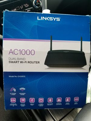 LINKSYS AC1000 DUAL-BAND WIFI ROUTER for Sale in Chicago, IL
