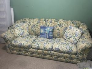 Couch with Full Size Pull-out Bed for Sale in Reston, VA