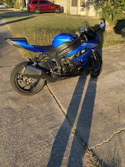 2011 Kawasaki zx6r for Sale in Killeen,  TX