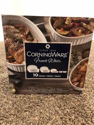 CorningWare French White 10 piece Set for Sale in Midvale, UT